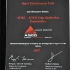 Prêmio Programa  Acre AGCO 2007