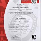 Certificação ISO9001:2008 - BVQI